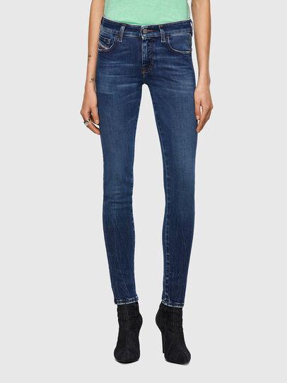Diesel - Slandy Low 009ZX, Dark Blue - Jeans - Image 1