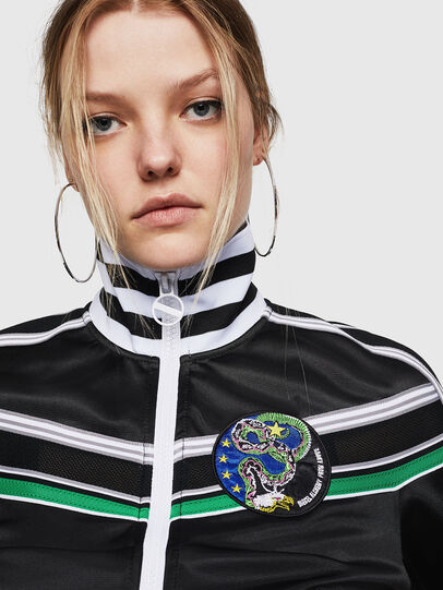 Diesel - F-LIDIUS-G, Black - Sweaters - Image 3