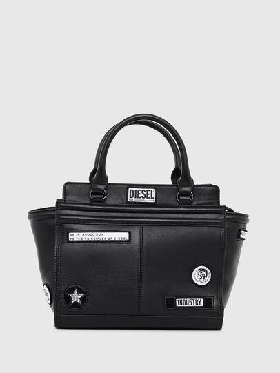 Diesel - LE-ZIPPER SATCHEL S,  - Shopping and Shoulder Bags - Image 1