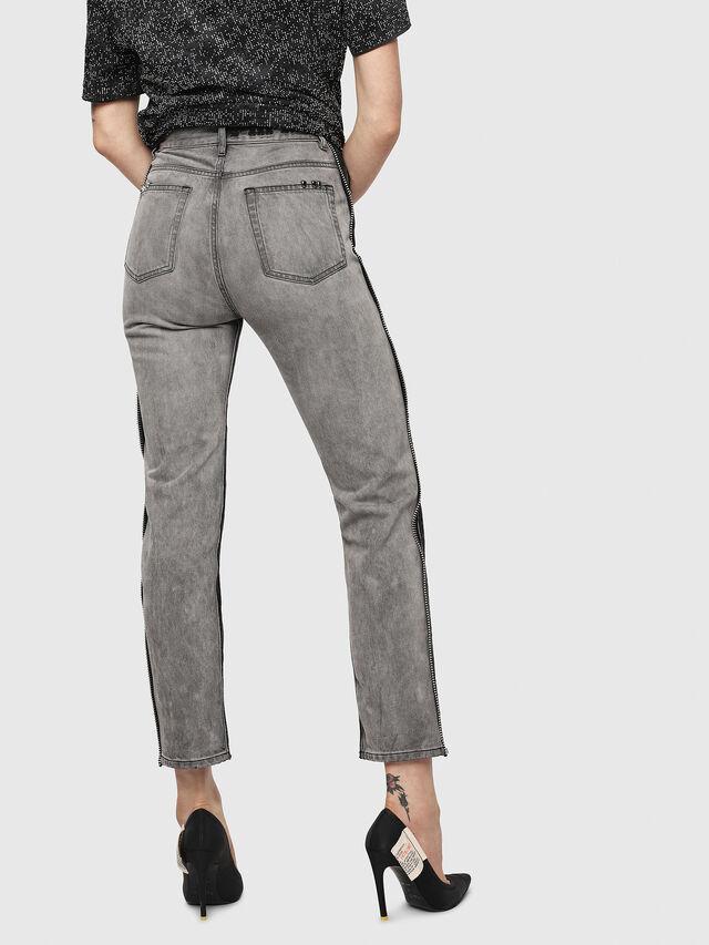 Diesel - D-Eiselle 082AN, Black/Dark grey - Jeans - Image 2