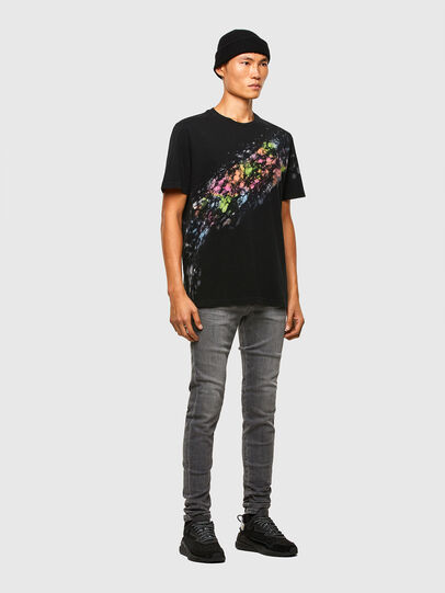 Diesel - T-JUST-A40, Black - T-Shirts - Image 6