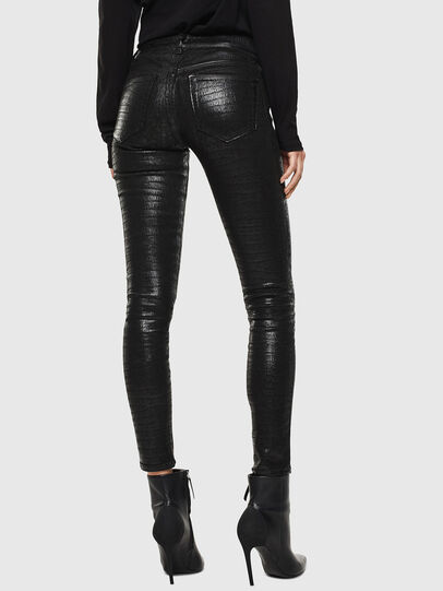 Diesel - Slandy 0094S, Black/Dark grey - Jeans - Image 2