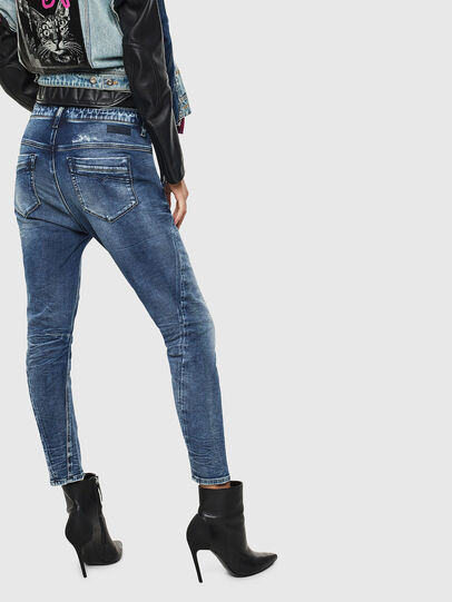 Diesel - Fayza JoggJeans 0096M, Dark Blue - Jeans - Image 2