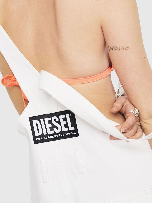 Diesel - DE-MURY, White - Jumpsuits - Image 3