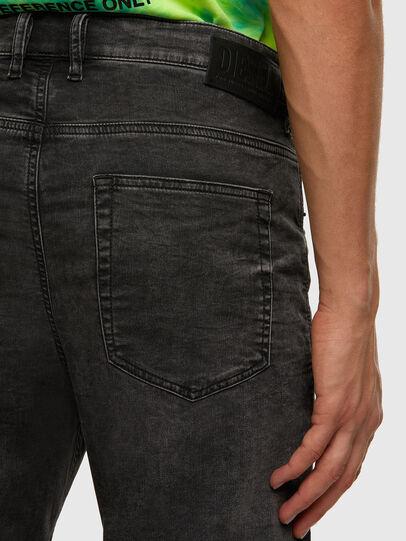 Diesel - D-Vider JoggJeans 009FZ, Black/Dark grey - Jeans - Image 4