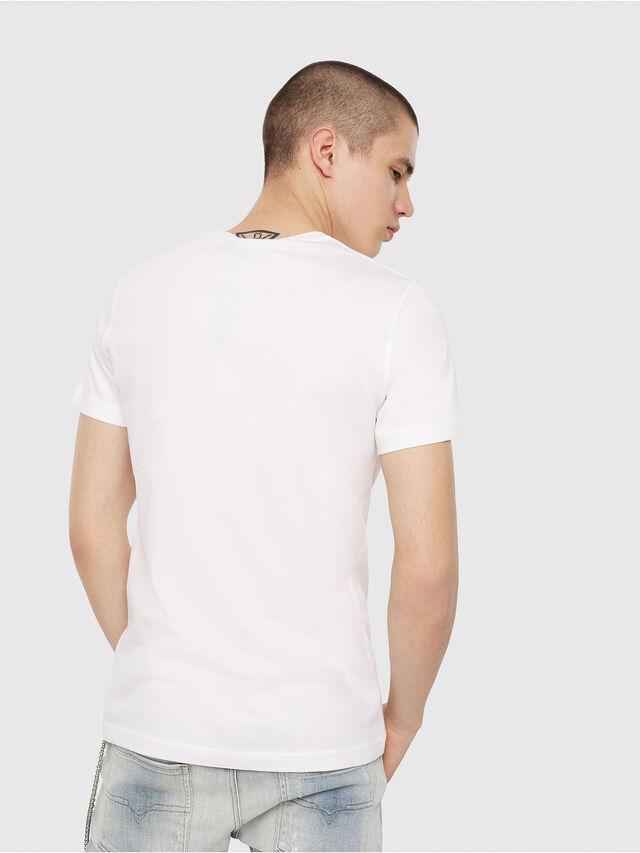 Diesel - T-DIEGO-C1, White - T-Shirts - Image 2