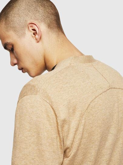 Diesel - K-MILOK, Light Brown - Knitwear - Image 5