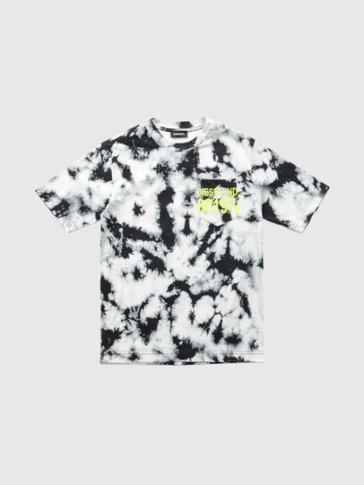 Diesel - TJUSTJ23 OVER, Black - T-shirts and Tops - Image 1
