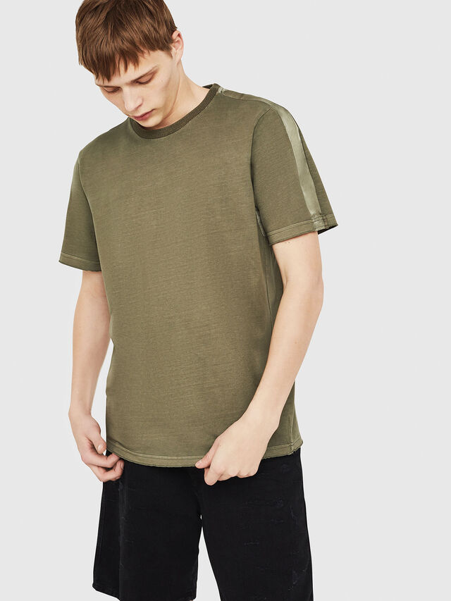 Diesel - T-MIX, Military Green - T-Shirts - Image 1