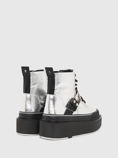 Diesel - H-SCIROCCO STRAP, Silver - Sneakers - Image 3
