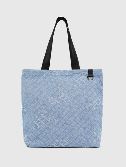 Diesel - F-THISBAG SHOPPER NS, Blue Jeans - Shopping and Shoulder Bags - Image 1