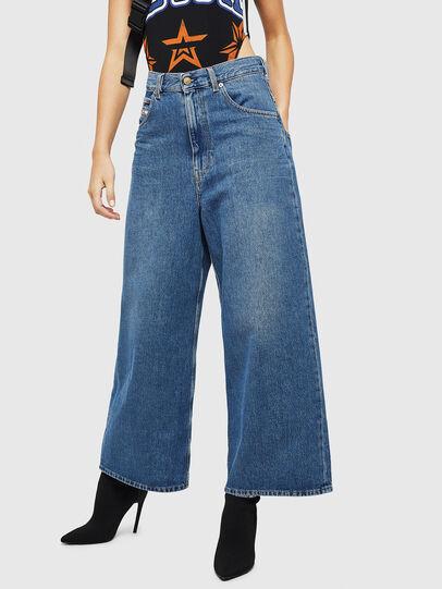 Diesel - D-Luite 080AN, Medium blue - Jeans - Image 1