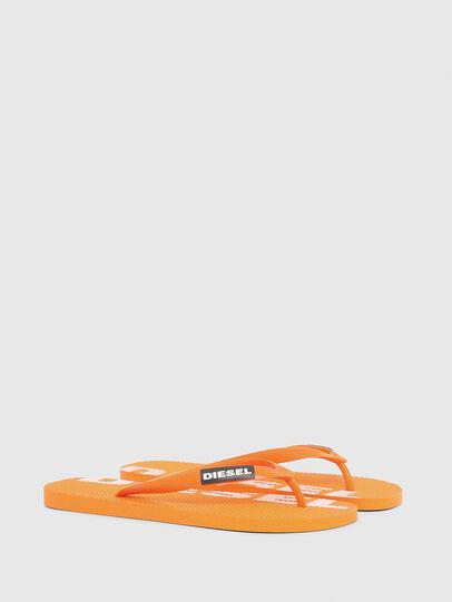 Diesel - SA-BRIIAN, Orange - Slippers - Image 2