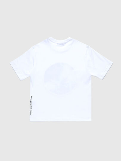 Diesel - TMOONYX2 OVER, White - T-shirts and Tops - Image 2