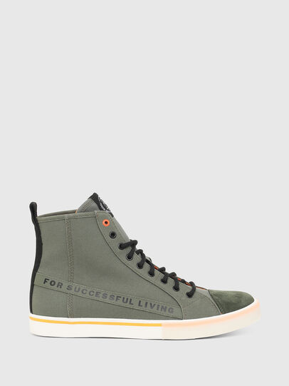 Diesel - S-DVELOWS ML, Military Green - Sneakers - Image 1