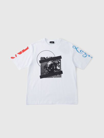 Diesel - TJUSTSH OVER,  - T-shirts and Tops - Image 1
