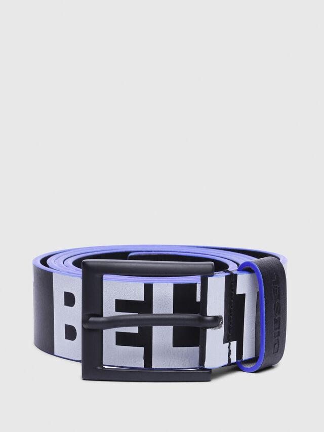 Diesel - B-ANGIARI, Black/Violet - Belts - Image 1