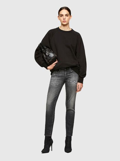 Diesel - D-Ollies JoggJeans® 009QT, Black/Dark grey - Jeans - Image 5