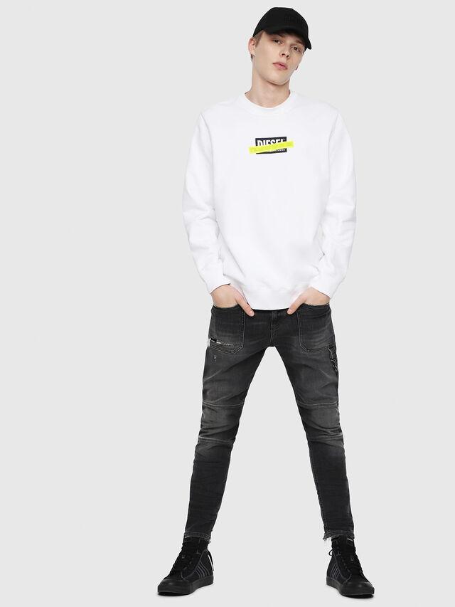 Diesel - S-GIR-DIE, White - Sweaters - Image 4