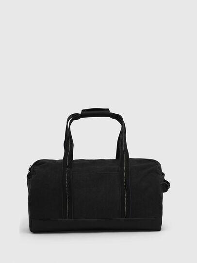 Diesel - D-THISBAG TRAVEL BAG, Black - Travel Bags - Image 2