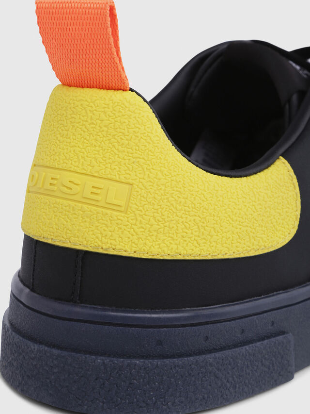 Diesel - S-CLEVER LOW, Black/Yellow - Sneakers - Image 5