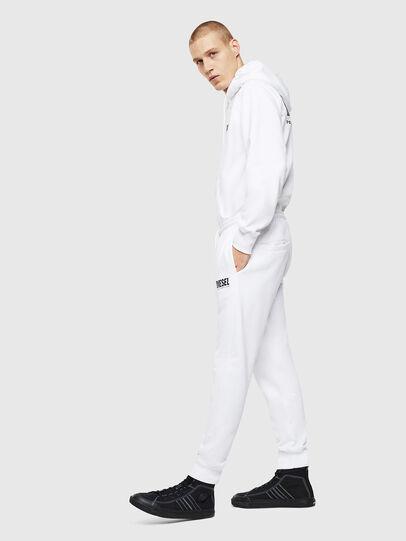 Diesel - P-TARY-LOGO, White - Pants - Image 4