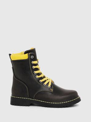 HB LACE UP 04 YO, Black - Footwear