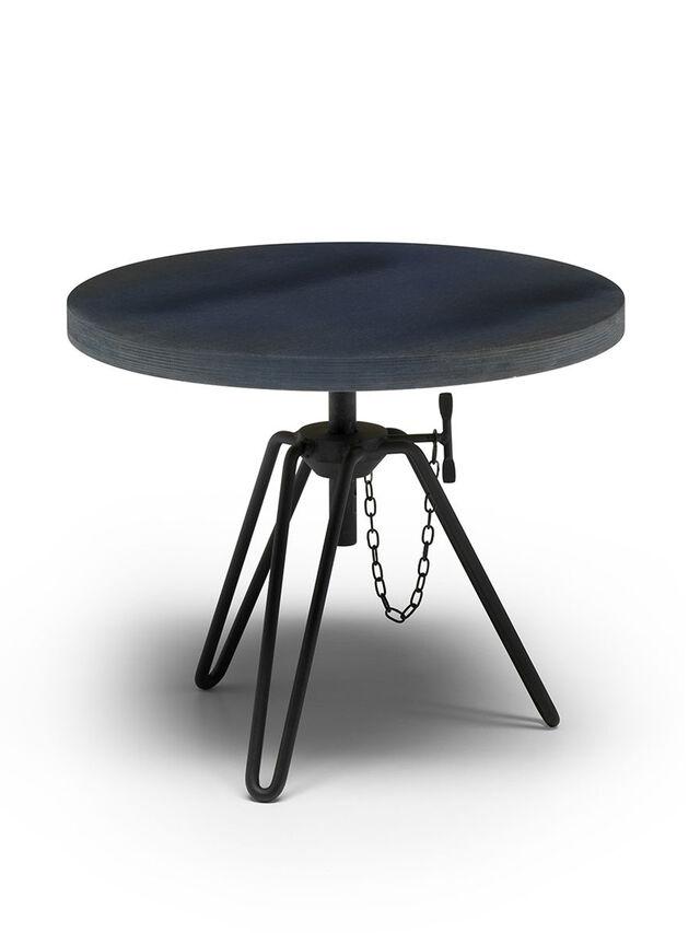Diesel - DL0F04 OVERDYED, Black/Blue - Low Tables - Image 1