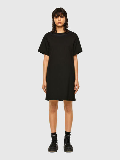 Diesel - D-OUBLE, Black - Dresses - Image 1