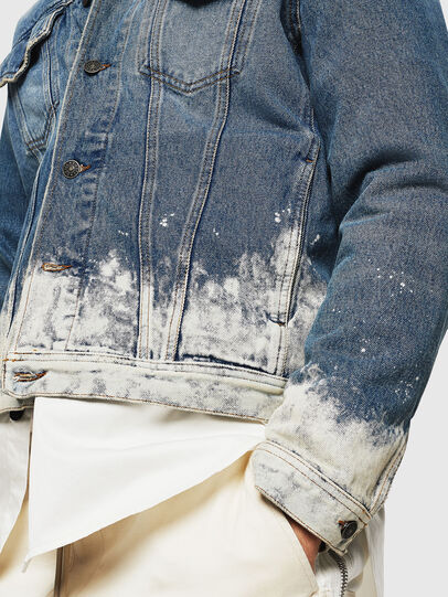 Diesel - NHILL, Light Blue - Denim Jackets - Image 6