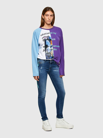 Diesel - Slandy 009PU, Medium blue - Jeans - Image 5