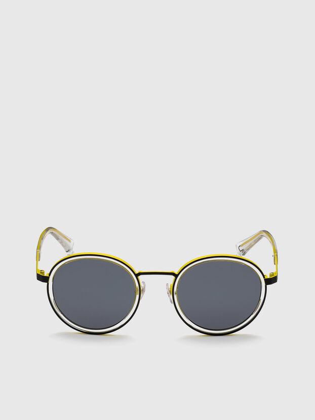 DL0321, Black/Yellow - Sunglasses