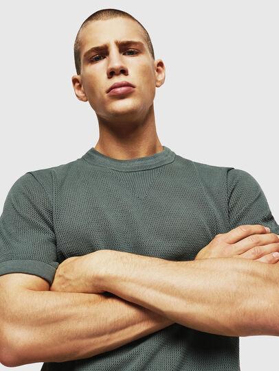 Diesel - K-LORE, Olive Green - Knitwear - Image 3