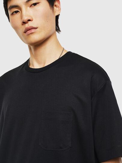 Diesel - T-TIGE, Black - T-Shirts - Image 3
