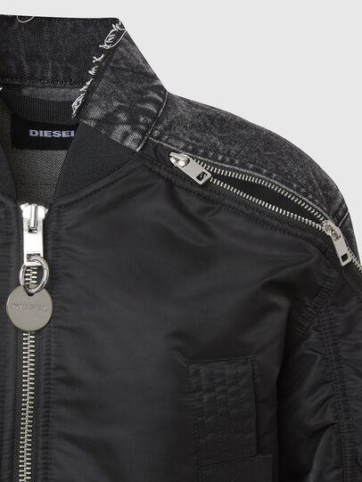 Diesel - G-DANIEL, Black - Jackets - Image 5