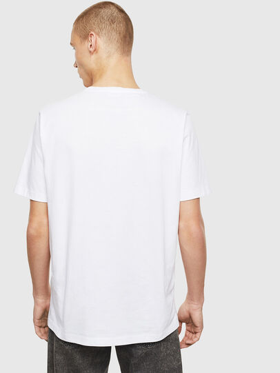Diesel - T-JUST-T26, White - T-Shirts - Image 2