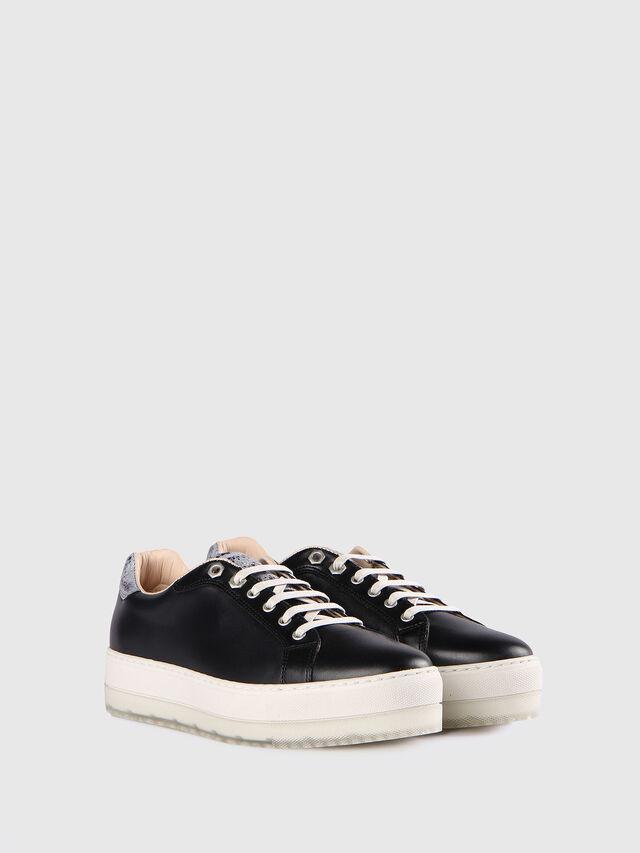 Diesel - S- ANDYES W, Black/Silver - Sneakers - Image 2