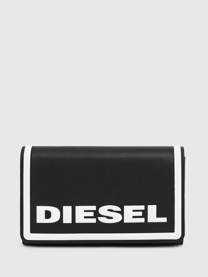 Diesel - DIPSEVOLUTION, Black/White - Continental Wallets - Image 1