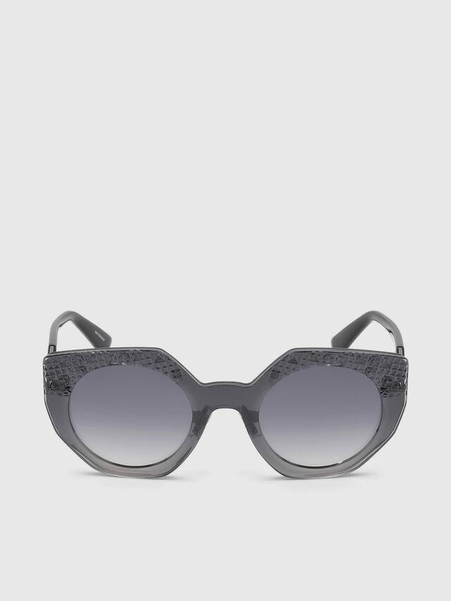 Diesel - DL0258, Grey - Sunglasses - Image 1