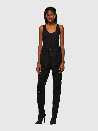 Diesel - P-FEDRA-A, Black - Pants - Image 5