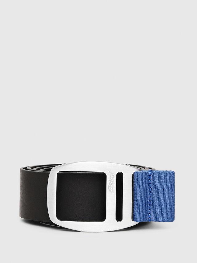 Diesel - B-PONSO, Black/Blue - Belts - Image 1