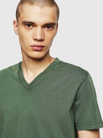 Diesel - T-THEA, Dark Green - T-Shirts - Image 3