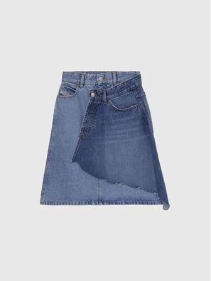 DE-TOBY, Medium blue - Skirts