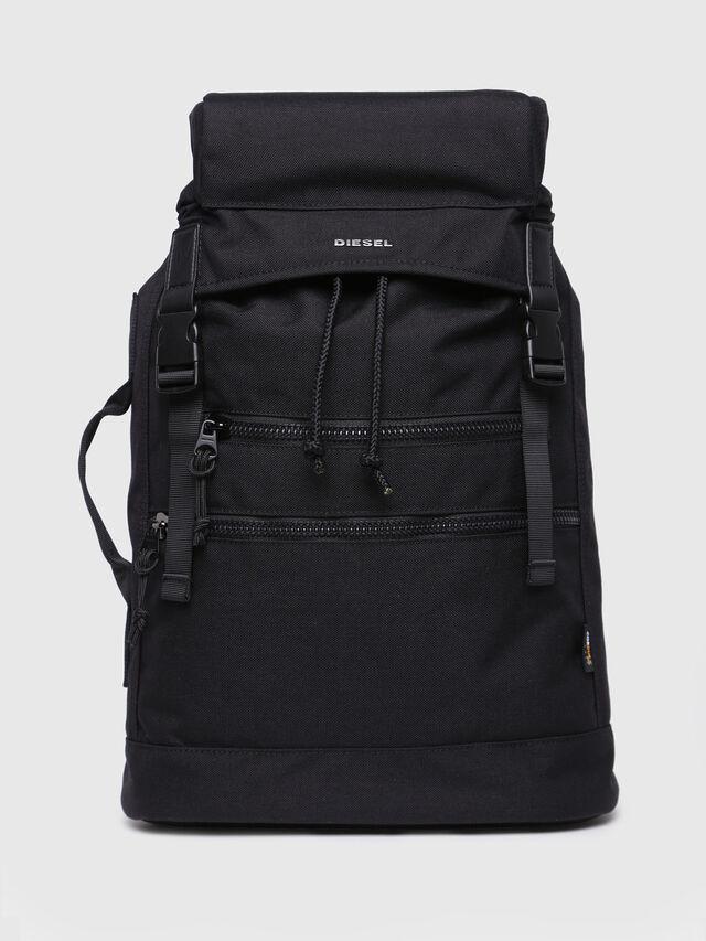 Diesel - F-URBHANITY BACK II, Opaque Black - Backpacks - Image 1