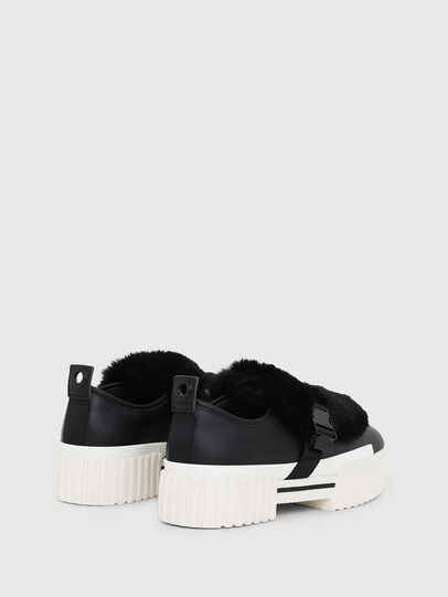 Diesel - S-MERLEY LF, Black - Sneakers - Image 3