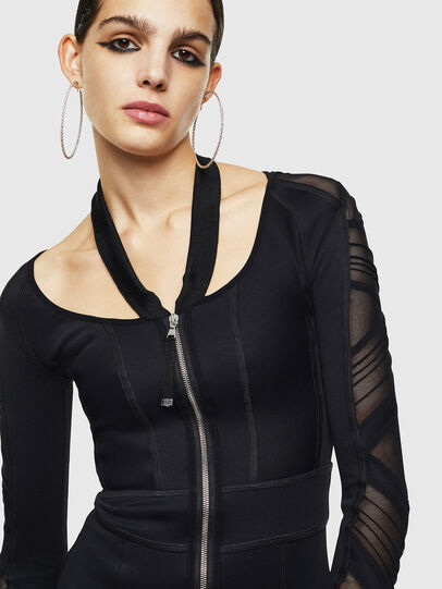 Diesel - DECH, Black - Dresses - Image 3
