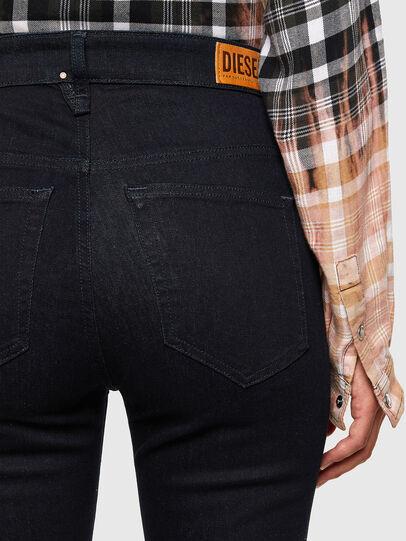 Diesel - Slandy High 009CW, Dark Blue - Jeans - Image 4