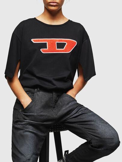 Diesel - Fayza JoggJeans 069GP, Black/Dark grey - Jeans - Image 4