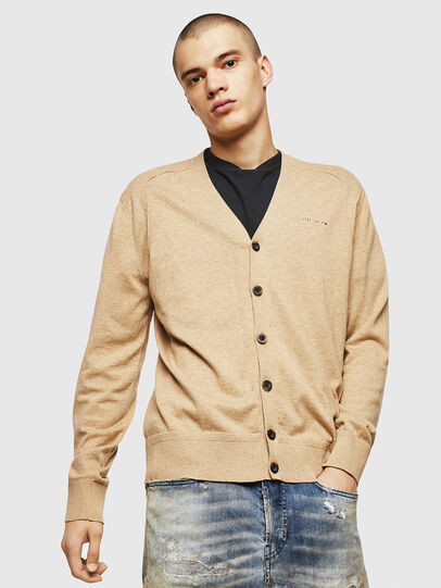 Diesel - K-MILOK, Light Brown - Knitwear - Image 1