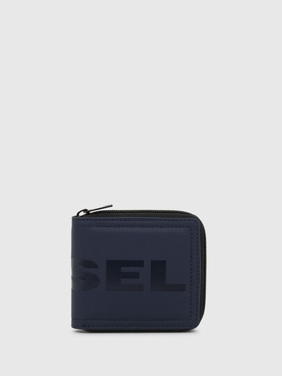 Diesel - ZIPPY HIRESH S, Dark Blue - Zip-Round Wallets - Image 1